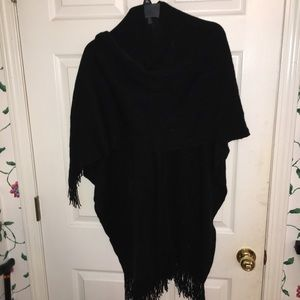 Accessories - Poncho wrap scarf